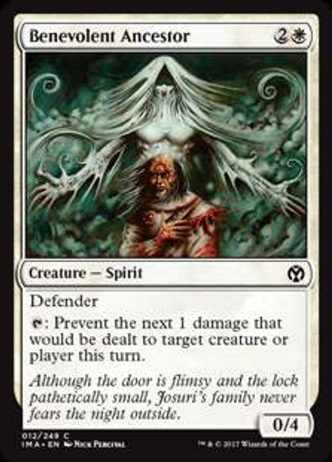 MtG Iconic Masters Common Benevolent Ancestor #12