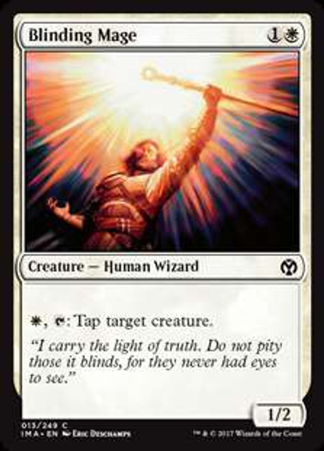 MtG Iconic Masters Common Blinding Mage #13