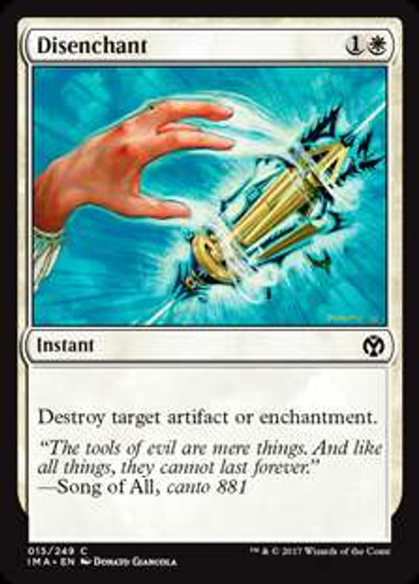 MtG Iconic Masters Common Disenchant #15