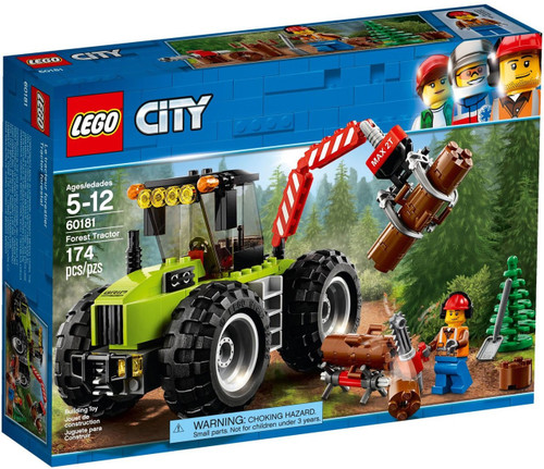 LEGO City Forest Tractor Set #60181