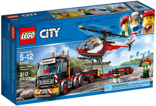 LEGO City Heavy Cargo Transport Set #60183