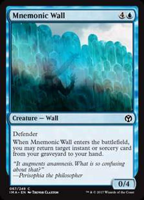 MtG Iconic Masters Common Mnemonic Wall #67