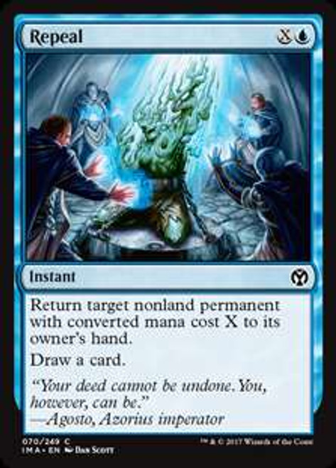 MtG Iconic Masters Common Repeal #70