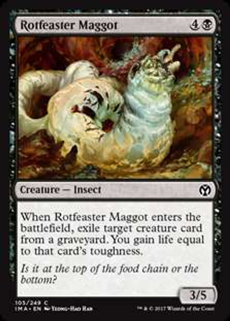 MtG Iconic Masters Common Rotfeaster Maggot #105
