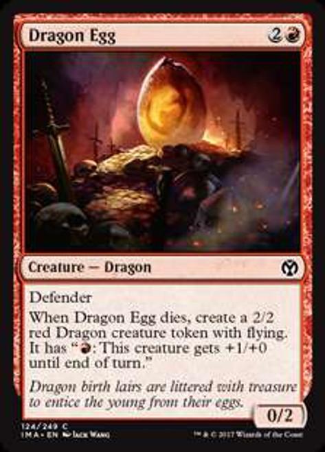 MtG Iconic Masters Common Foil Dragon Egg #124