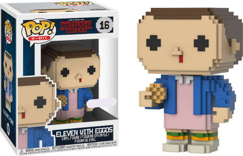 Funko Stranger Things POP! 8-Bit Eleven with Eggos Exclusive Vinyl Figure