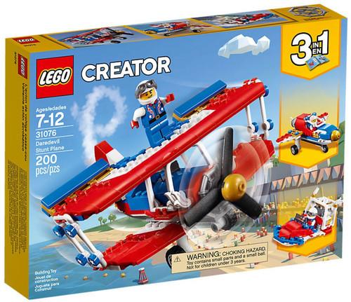 LEGO Creator Daredevil Stunt Plane Set #31076