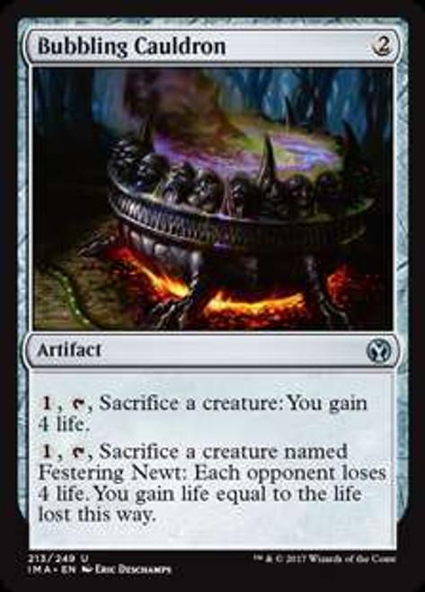 MtG Iconic Masters Uncommon Bubbling Cauldron #213