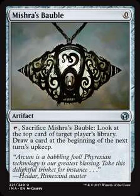 MtG Iconic Masters Uncommon Foil Mishra's Bauble #221