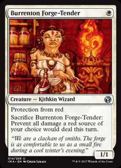 MtG Iconic Masters Uncommon Burrenton Forge-Tender #14