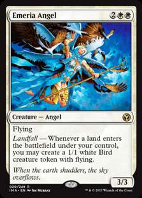 MtG Iconic Masters Rare Emeria Angel #20