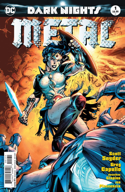 DC Dark Nights Metal #1 Comic Book [Jim Lee]