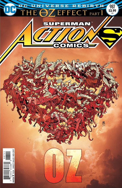 DC Action Comics #987 Comic Book [Lenticular Cover]