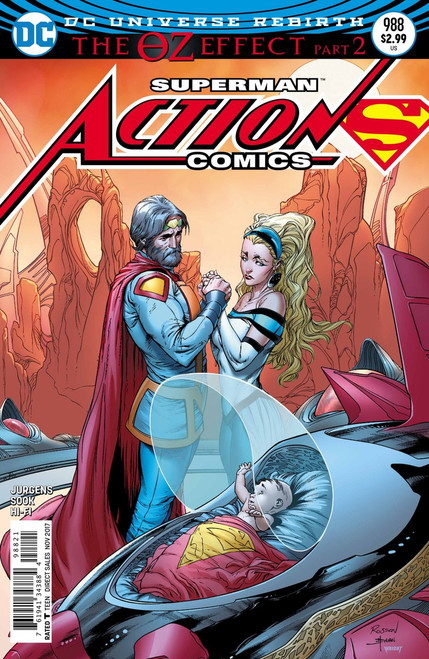 DC Action Comics #988 Comic Book [Lenticular Cover]