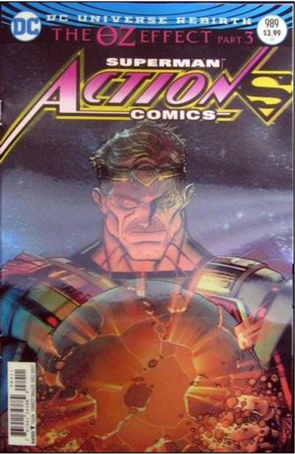 DC Action Comics #989 Comic Book [Lenticular Cover]
