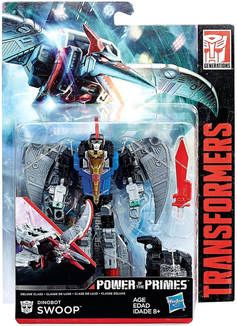 Transformers Generations Power of the Primes Dinobot Swoop Deluxe Action Figure