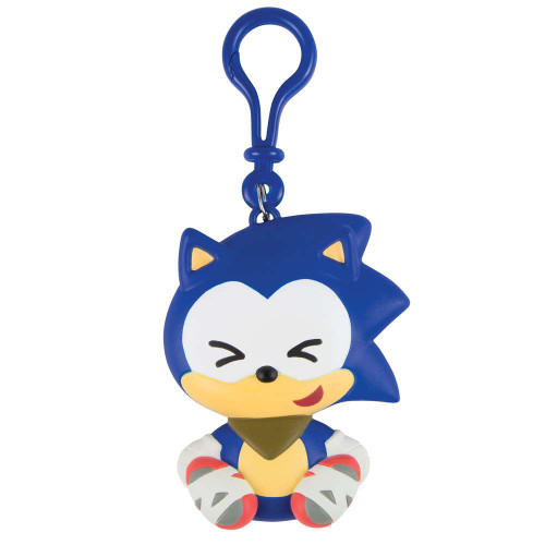 Sonic Boom Emoji Cute Sonic Clip On Figure