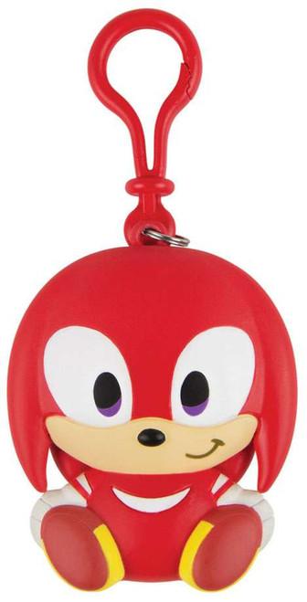 Sonic Boom Emoji Happy Knuckles Clip On Figure