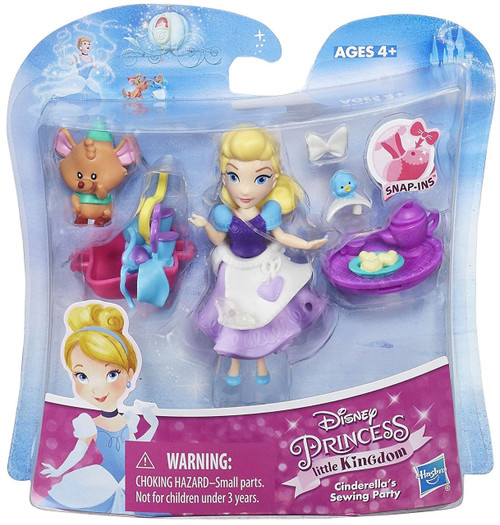 Disney Princess Little Kingdom Cinderella's Sewing Party Figure