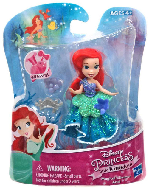 Disney Princess The Little Mermaid Little Kingdom Magical Glimmer Ariel Exclusive Figure