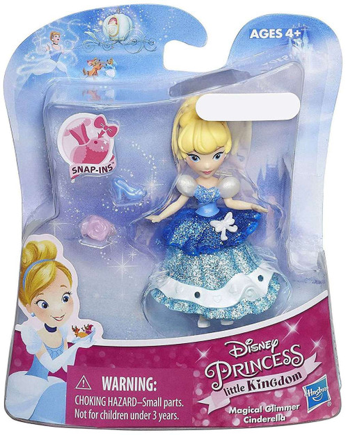 Disney Princess Little Kingdom Magical Glimmer Cinderella Exclusive Figure