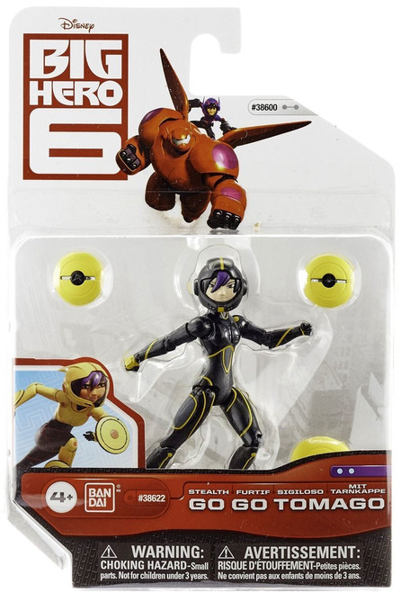 Big Hero 6 Stealth Go Go Tomago Action Figure