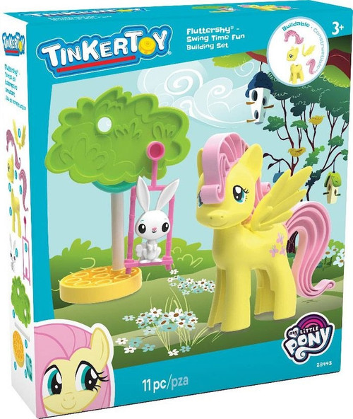 K'NEX Tinker Toy My Little Pony Fluttershy Swing Time Fun Set #28443