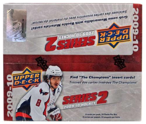 NHL 2009-10 Hockey Series 2 Trading Card RETAIL Box