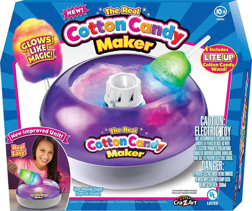 Cra-Z-Art The Real Cotton Candy Maker Activity Set