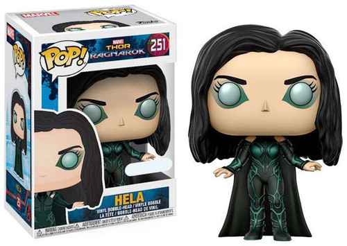 Funko Thor: Ragnarok POP! Marvel Hela Exclusive Vinyl Bobble Head #251 [No Helmet]