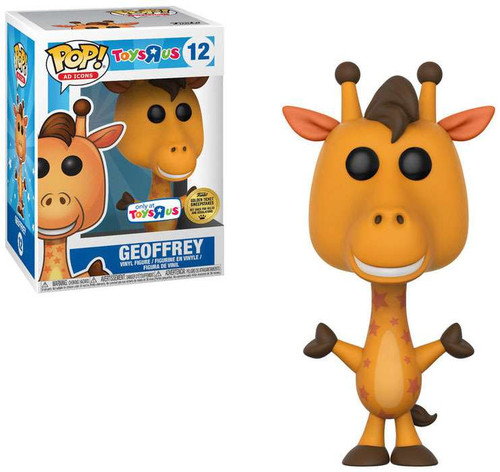 Funko Toys 'R Us POP! Ad Icons Geoffrey Exclusive Vinyl Bobble Head #12
