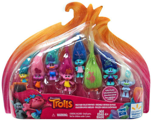 Trolls Wild Hair Collection Pack Exclusive