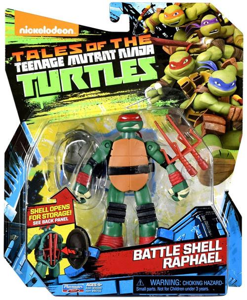 Teenage Mutant Ninja Turtles Tales of the TMNT Battle Shell Raphael Action Figure