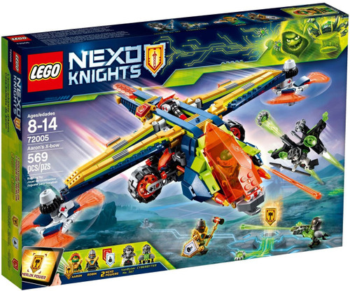LEGO Nexo Knights Aaron's X-Bow Set #72005
