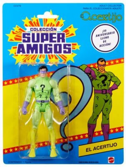 DC Universe Super Powers 30th Anniversary Classics Green Lantern as The Riddler Action Figure