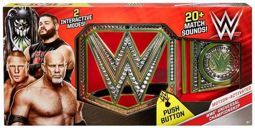 WWE Wrestling WWE Motion-Activated Universal Championship Kids Replica Belt