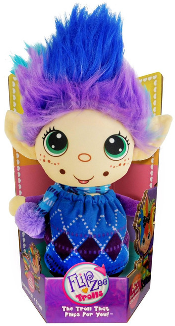 FlipZee! Trolls Winter Wonder Plush Doll