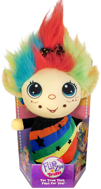 FlipZee! Trolls Rainbow Galore Plush Doll