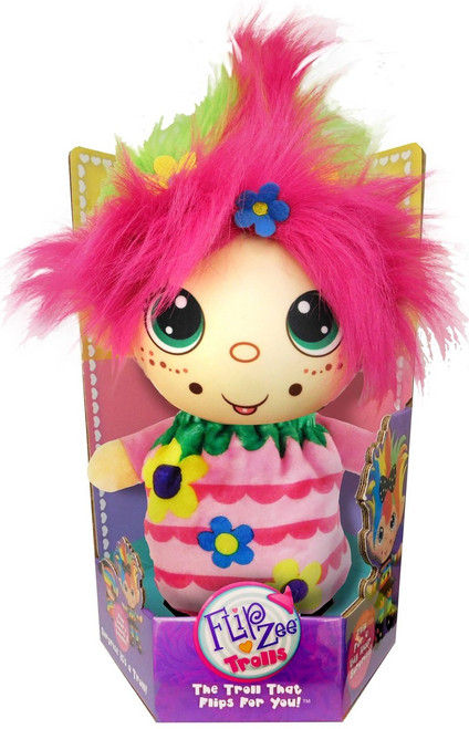 FlipZee! Trolls Flower Power Plush Doll