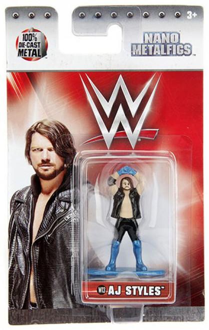 WWE Wrestling Nano Metalfigs AJ Styles 1.5-Inch Diecast Figure W13