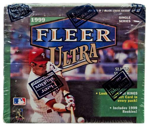 MLB 1999 Ultra Baseball Trading Card RETAIL Box [20 Packs]