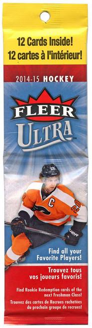 NHL 2014-15 Fleer Ultra Hockey Trading Card RACK Pack [12 Cards!]