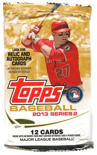 MLB Topps 2013 Series 2 Baseball Trading Card Pack