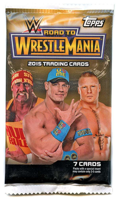 WWE Wrestling Topps 2015 Road to WrestleMania Trading Card Pack [7 Cards!]
