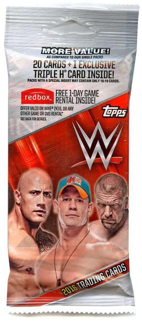 WWE Wrestling Topps 2016 Trading Card VALUE Pack