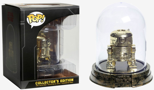 Funko POP! Star Wars Collector's Edition Gold R2-D2 Exclusive Vinyl Bobble Head