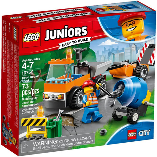 LEGO Juniors Road Repair Truck Set #10750