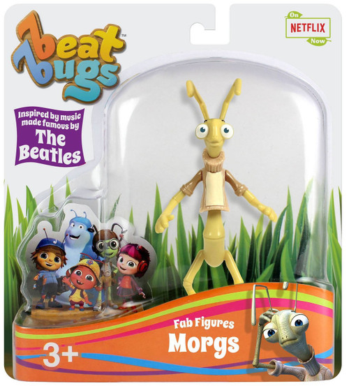 Beat Bugs Fab Figures Morgs Action Figure