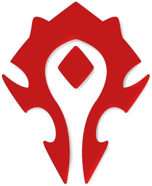 World of Warcraft Horde Cutout Sticker