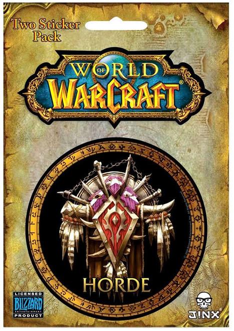 World of Warcraft Horde Sticker 2-Pack